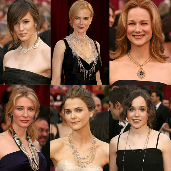 necklace to Jennifer Gardner's choker, all of these ladies had a little,
