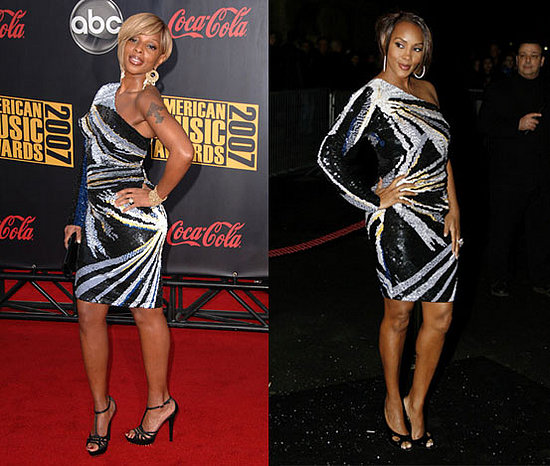 mary j blige dresses. Mary J. Blige stepped out in