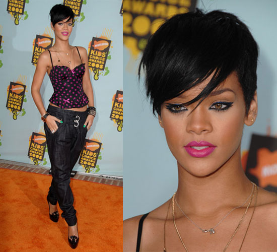 Rihanna Short Hair Photos