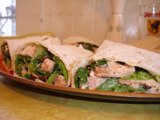 Wich of the Week: Chicken Caesar Wraps   POPSUGAR Food