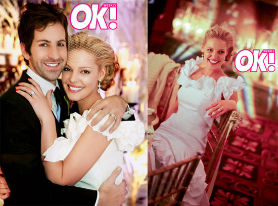 katherine heigl wedding. Inside Heigl#39;s Holiday Wedding