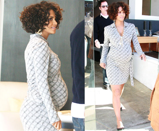 Halle's Berry Berry Pregnant