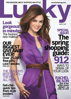 Rachel Bilson in Lucky Magazine