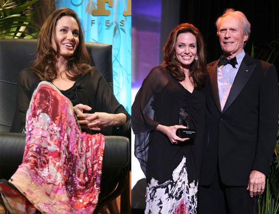 Angelina Jolie Clint Eastwood