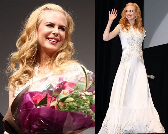 Nicole Kidman's Golden Compass All in White