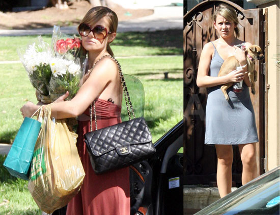 Lauren Conrad runs errands with her Chanel Classic Flap.