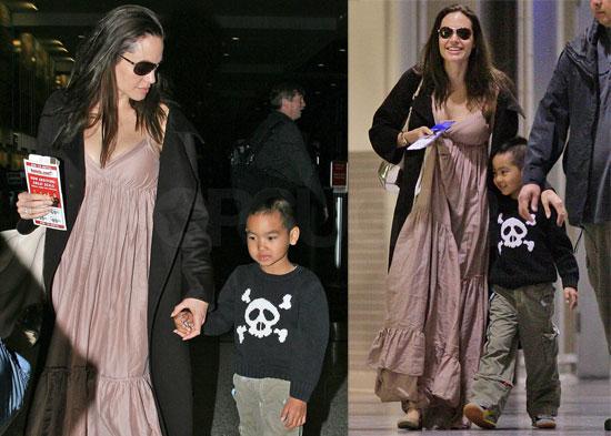 French Jolie-Pitt twins.