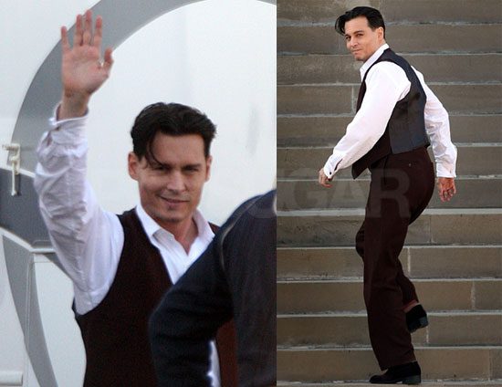 Astounding What Is Johnny Depp39S Hairstyle In Public Enemies Yahoo Answers Short Hairstyles Gunalazisus