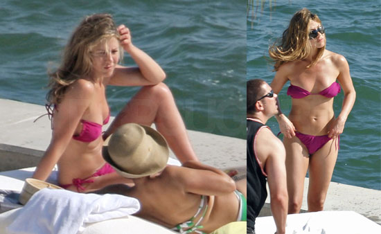 jennifer aniston in a bikini