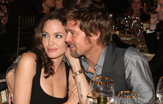 Angelina Jolie And Brad Pitt Married. Brad Pitt and Angelina Jolie