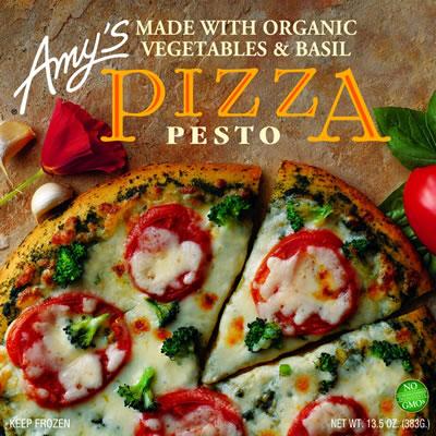 Review Of Amy S Kitchen Pesto Pizza Popsugar Fitness