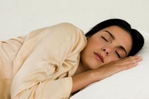 slumbering on left facet in islam