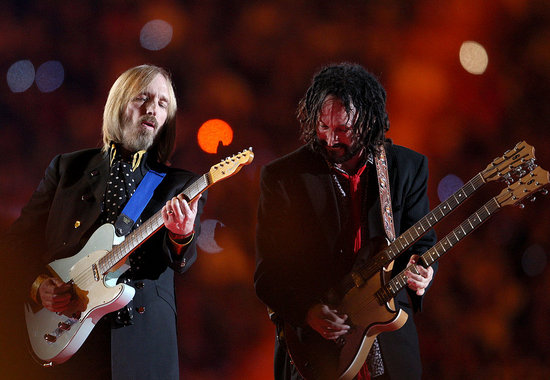 tom petty and the heartbreakers. Tom Petty took the field at