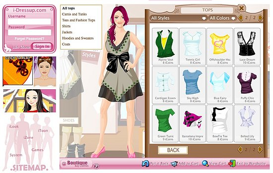 Virtual Dress Up Model | Elance Job