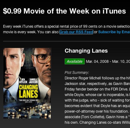 How To Get the 99 Cent Movie Rentals From iTunes ...