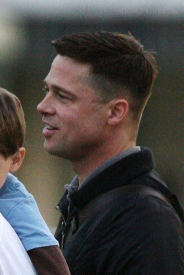 brad pitt fight club buzz cut - photo #19