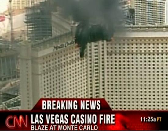 monte carlo casino fire in las vegas