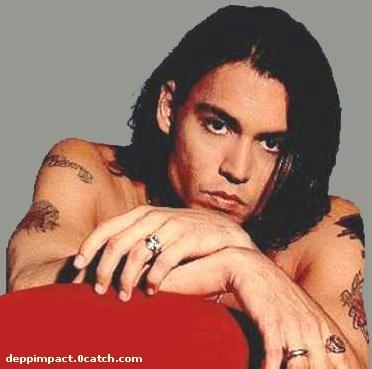 Celebrity Tattoo: Johnny Depp Arm Tattoo. at 4:31 AM