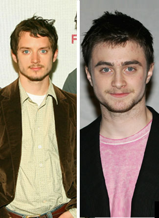 Celebrity Look Alikes Part 5: Daniel Radcliffe and Elijah Wood