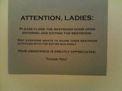 etiquette signs