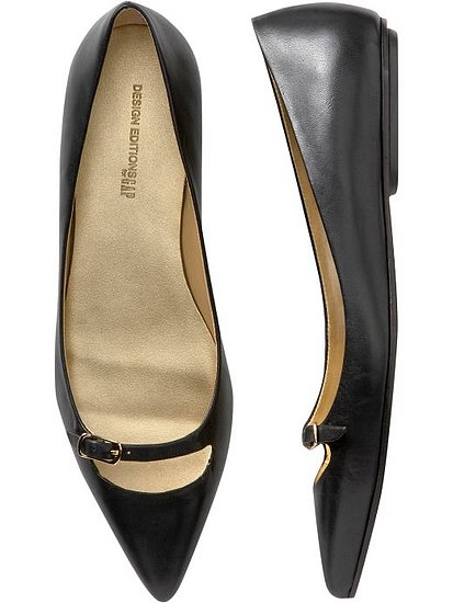 The Pierre Hardy &quot;MaryJane&quot; pointy flats. YAWN.
