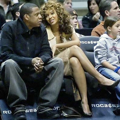 jay z and beyonce wedding ring. Beyonce and Jay-Z begin