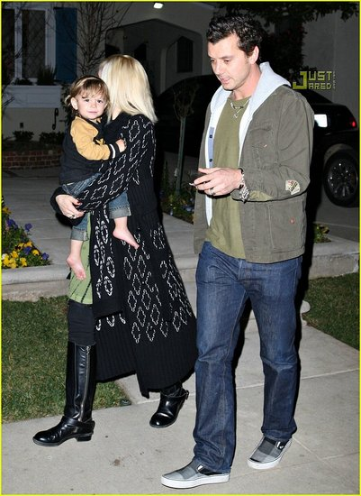 gwen stefani and baby