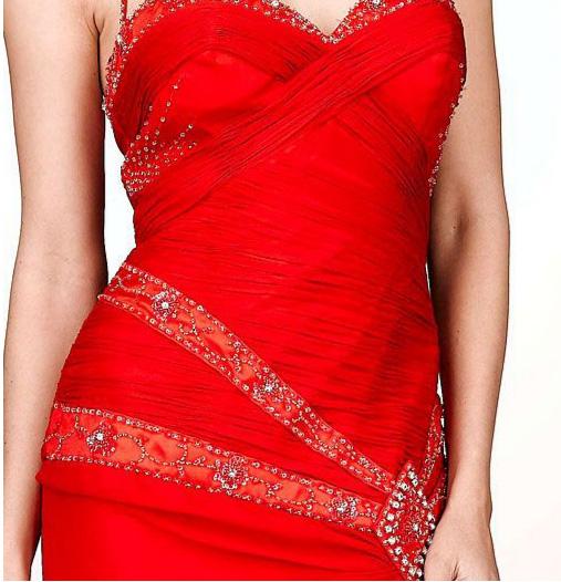 Red dress from dillards love or hate popsugar celebrity
