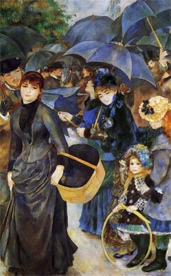 Own a Renoir Reproduction of The Umbrellas