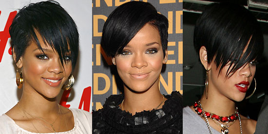 Rihanna Latest 2009 Hairstyle:Rihanna