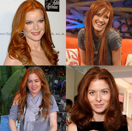 copper orange hair color. Protect Your Hair Color: