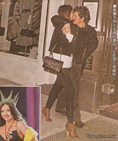 miranda kerr and orlando bloom. i blogged about Orlando Bloom