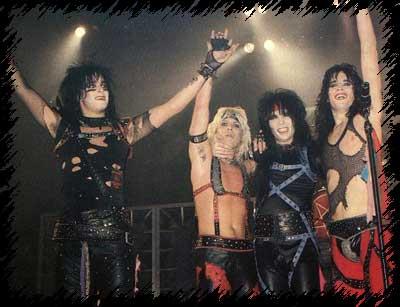 Mötley  Crüe Live