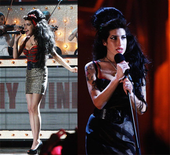 Amy Winehouse At The Brit Awards 2008