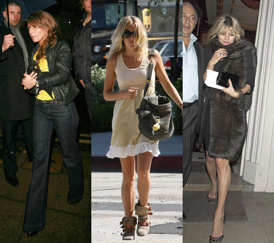 style icons from Coleen, to Victoria Beckham to Angelina Jolie!