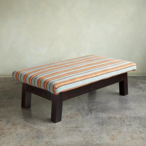 Kilim-covered Vaulting Bench