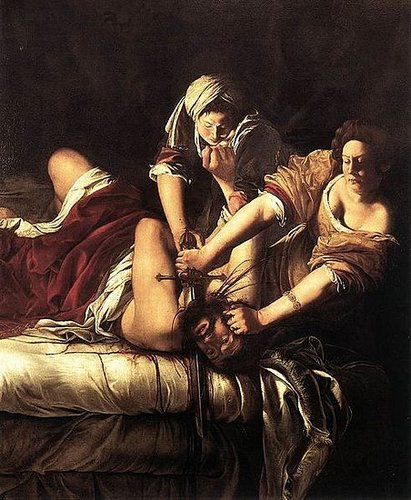 Judith Slaying Holofernes (1614-20) Galleria degli Uffizi, Florence, Italy