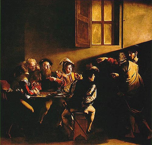 The Calling of St. Matthew (1599-1600)
