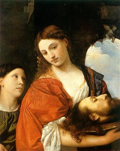 "Titian's ""Salome with the Head of John the Baptist"""