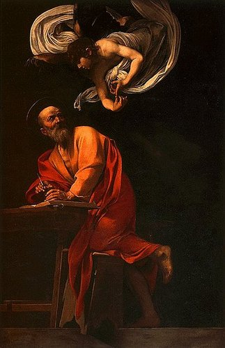 St. Matthew and the Angel (1603)