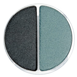 Stila Eyeshadow Duo in Fandango (lime green/with warm chocolate brown)