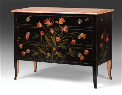 Crave worthy firenze chest popsugar home for Painting over lead paint on furniture