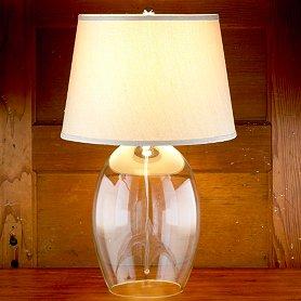Table lamps glass base best inspiration for table lamp stacked glass audrey table lamp base world market aloadofball Gallery