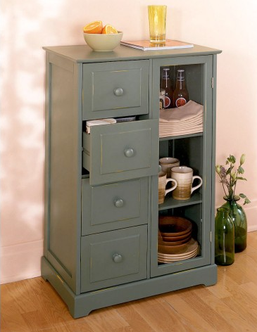 Steal of the Day Kitchen Storage Cabinet CasaSugar Home Garden from casasugar.com
