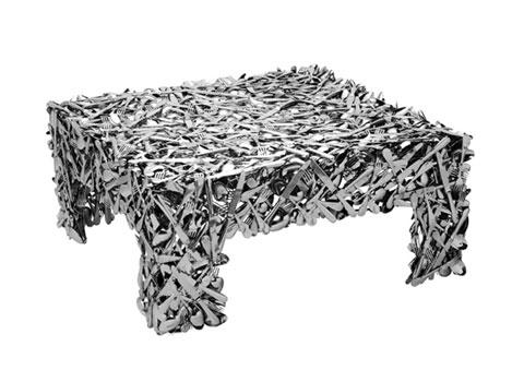 Weird furniture precious famine popsugar home for Strange table