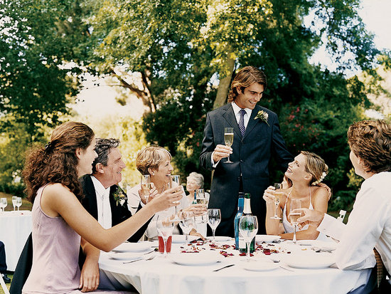 The How To Lounge Reception Speech And Toast Etiquette