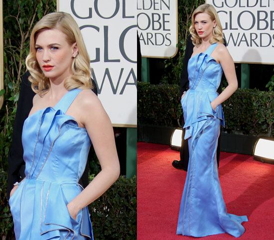 january jones golden globes 11