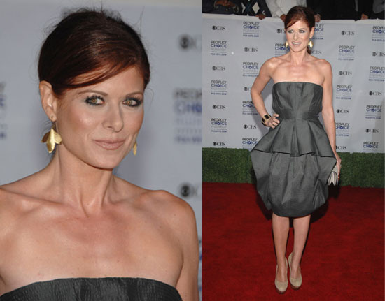 2009 People's Choice Awards: Debra Messing | Debra Messing, 2009 People's Choice Awards, 2009 People's Choice Awards Poll | FabSugar - Fashion & Style. :  messing fashion awards choice