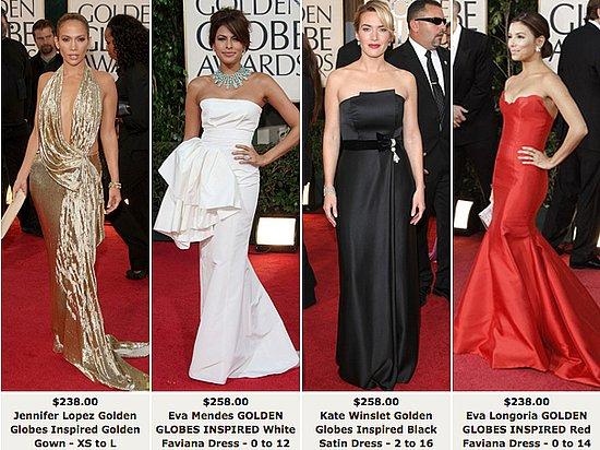 The Golden Globes Photos. Faviana#39;s Golden Globes