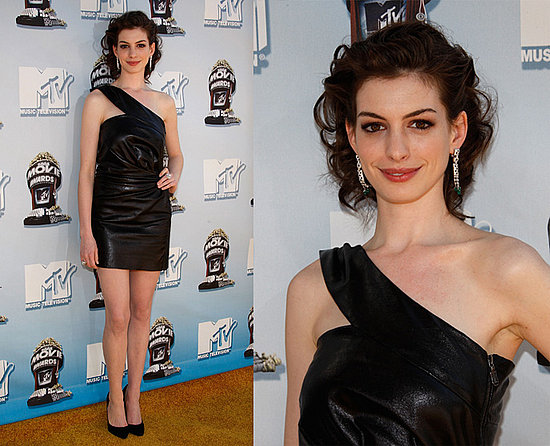 Anne Hathaway in s_xy shirt